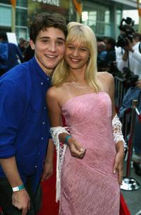 Trevor Morgan and Carly Schroeder at the premiere of