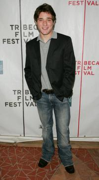 Trevor Morgan at the premiere of