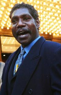 David Ngoombujarra at the 45th Australian Film Industries Awards 2003.