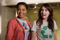 Kyla Pratt and Emma Roberts in
