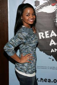 Kyla Pratt at the NEA Read Across America Day to celebrate Dr. Seusss Birthday.