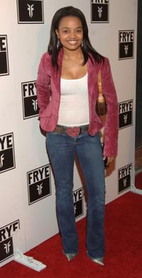 Kyla Pratt at the LA Fashion Week Party.