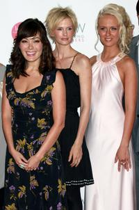 Lindsay Price, Kylie Bax and Caridee English at the 14th Annual Cosmetic Executive Women Beauty Awards.