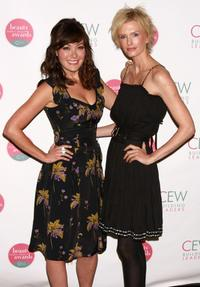 Lindsay Price and Kylie Bax at the 14th Annual Cosmetic Executive Women Beauty Awards.