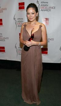 Lindsay Price at the 2008 JCPenney Asian Excellence Awards.
