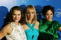 Brooke Shields, Kim Raver and Lindsay Price at the NBC Universal Experience.