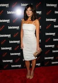 Lindsay Price at the Entertainment Weekly and Vavoom annual upfront party.