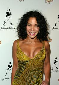 Daphne Rubin-Vega at the after party of the opening of