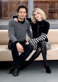 Claudio Santamaria and Laura Chiatti at the photocall of