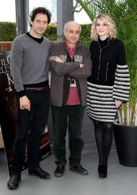 Claudio Santamaria, director Roberto Faenza and Laura Chiatti at the photocall of