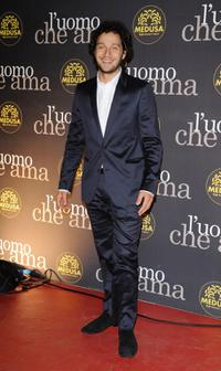 Claudio Santamaria at the 3rd Rome International Film Festival.
