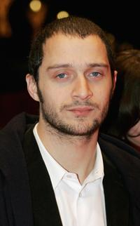 Claudio Santamaria at the premiere of