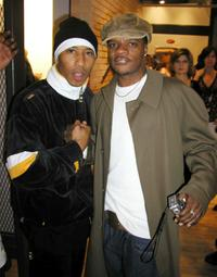 Fredro Starr and Ricky Bell at the Nike and Universal Music Presents Nelly and St. Lunatics American Music Awards Party.