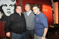 Comedians Angelo Tsarouchas, Fred Stoller and Steve Skrovan at the Bing Bar in Utah.