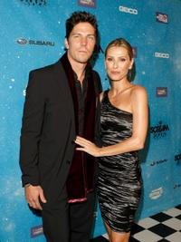 Michael Trucco and Sandra Hess at the Spike TV's Scream 2009.