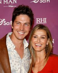 Michael Trucco and Sandra Hess at the Los Angeles premiere of