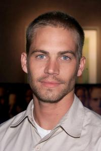 Paul Walker at the screening of