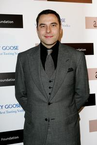 David Walliams at the Grey Goose Vodka And The Elton John AIDS Foundation Launch Party.