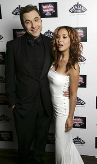 David Walliams and Myleene Klass at the British Comedy Awards 2006.