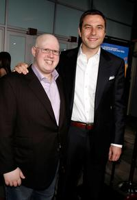 Matt Lucas and David Walliams at the UK premiere of