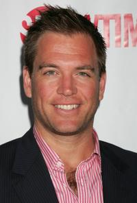 Michael Weatherly at the CW/CBS/Showtime/CBS Television TCA party.