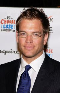 Michael Weatherly at the Young Hollywood Votes.