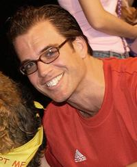 Michael Weatherly at the celebrity dog show.
