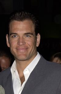 Michael Weatherly at the premiere of