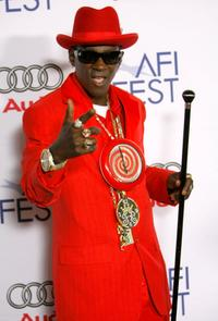 Flavor Flav at the world premiere of
