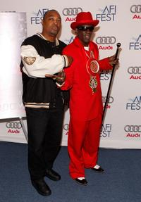 Rappers Chuck D and Flavor Flav at the world premiere of