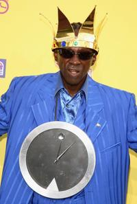 Flavor Flav at the Comedy Central Roast.