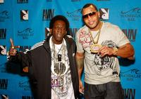 Flavor Flav and Flo Rida at the 26th Annual Adult Video News Awards.