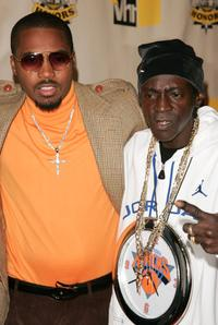 Nas and Flavor Flav at the VH1 Hip Hop Honors.