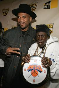 Darryl McDaniels and Flavor Flav at the VH1 Hip Hop Honors.