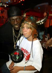 Flavor Flav and Chance Cooper at the Mindless Entertainment wrap party.