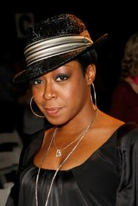 Tichina Arnold at the Julia Clancey Fall 2008 fashion show during the Mercedes-Benz Fashion Week.