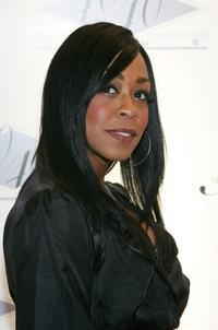 Tichina Arnold at the opening of Jay-Zs USD 20 million 40/40 Club.