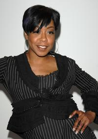 Tichina Arnold at the Jenny Han Fall 2008 fashion show.