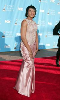 Tichina Arnold at the 39th NAACP Image Awards.