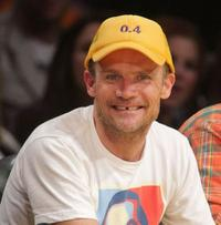 Flea at the Los Angeles Lakers vs San Antonio Spurs Western Conference Game 2.