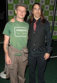 Flea and Anthony Kiedis at the 16th annual Environmental Media Awards.