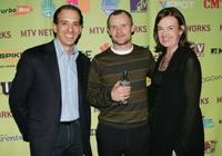 Van Toffler, Judy McGrath and Flea at the MTV Networks 2006 Upfront: Feed The Need.
