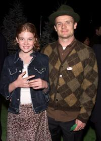 Flea and Guest at the premiere of