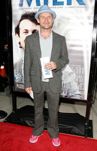 Flea at the Los Angeles premiere of