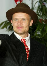Flea at the MusiCares 2005 Person of the Year Tribute to Brian Wilson.