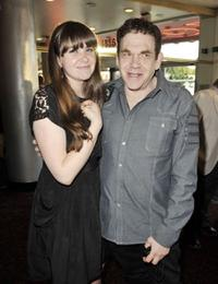 Rachel Fleischer and Charles Fleischer at the premiere of