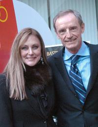 Peggy Fleming and Jean-Claude Killy at the celebrations of the 40th anniversary of the Grenoble's Olympic games.