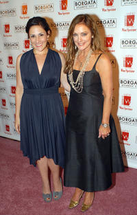 Ricki Lake and Peggy Fleming at the 3rd Annual Women in Wine at Borgata wine and food tasting event in New Jersey.