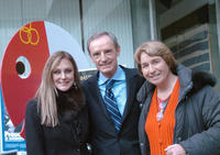 Peggy Fleming, Jean-Claude Killy and Marielle Goitschel at the celebrations of the 40th anniversary of the Grenoble's Olympic games.