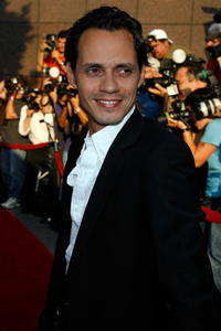 Marc Anthony at the L.A. premiere of